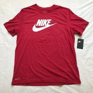 Men's Nike Tee T-Shirt Dri-FIT Size XL Red Wine
